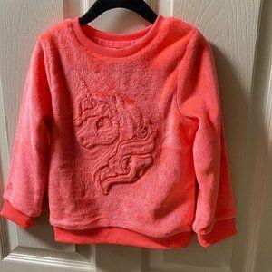 H&M super soft cuddly Unicorn Fleece Sweatshirt